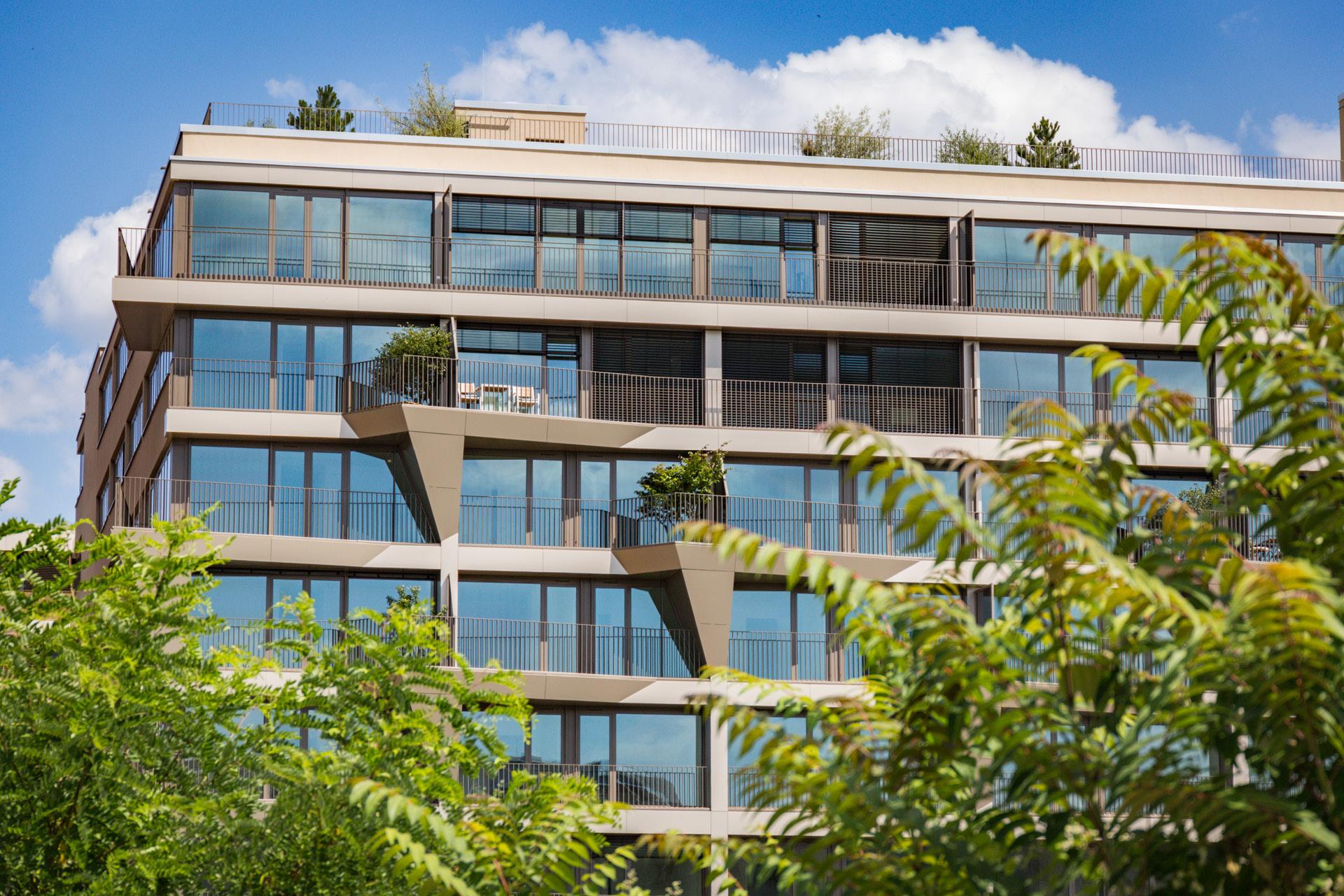 Fenster von Gebäude C