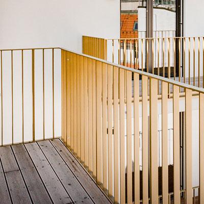 ein Treppengelände