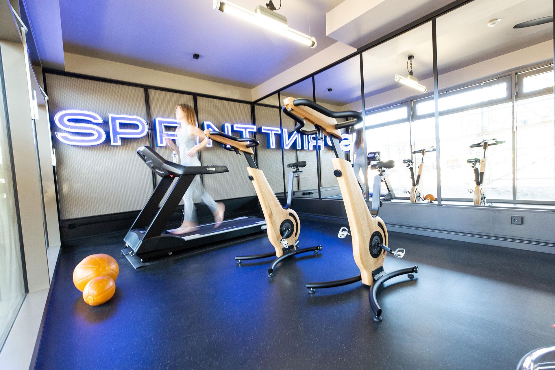 Gym und Fintessraum