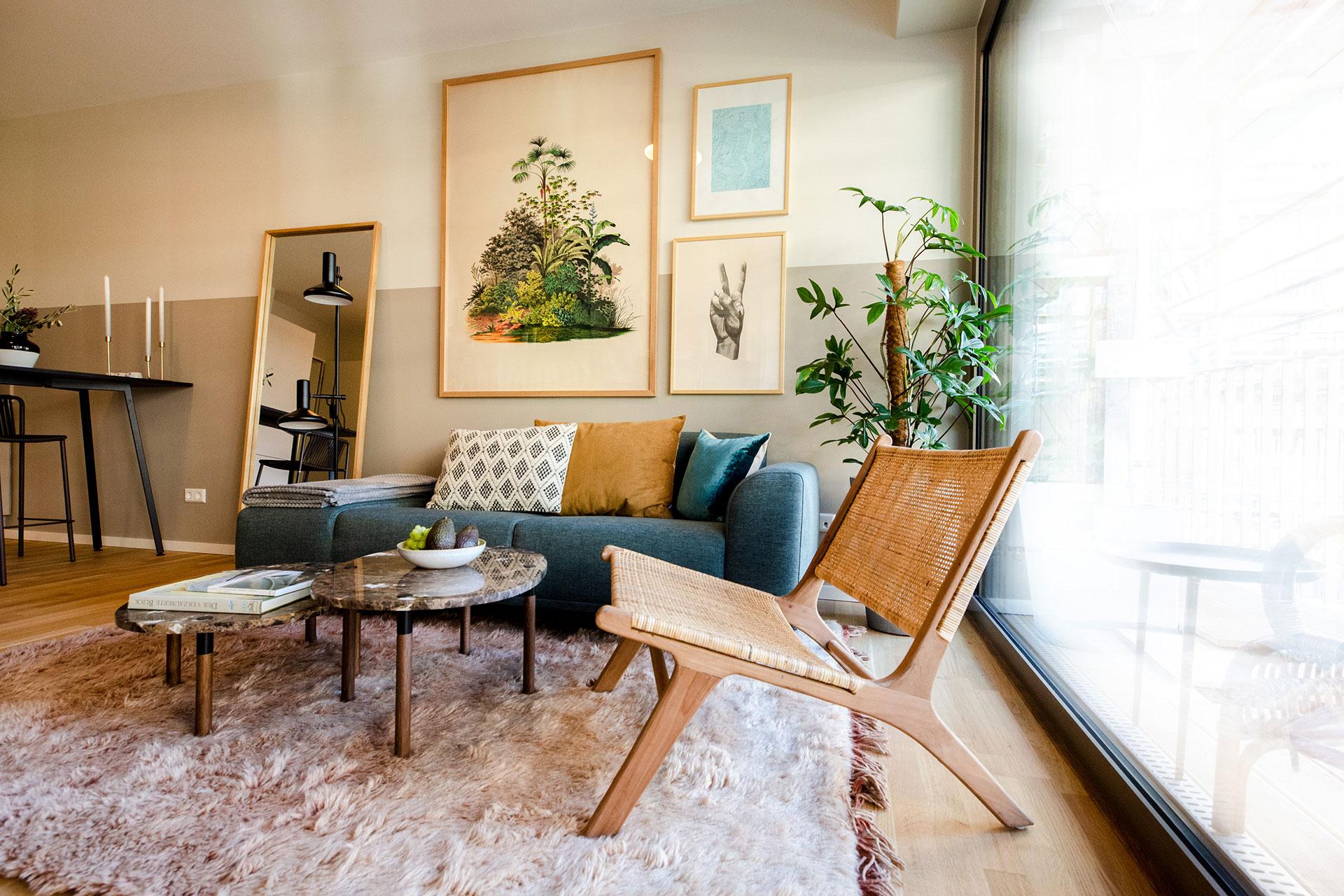 Möbel in einer Wohung I Charlie Living